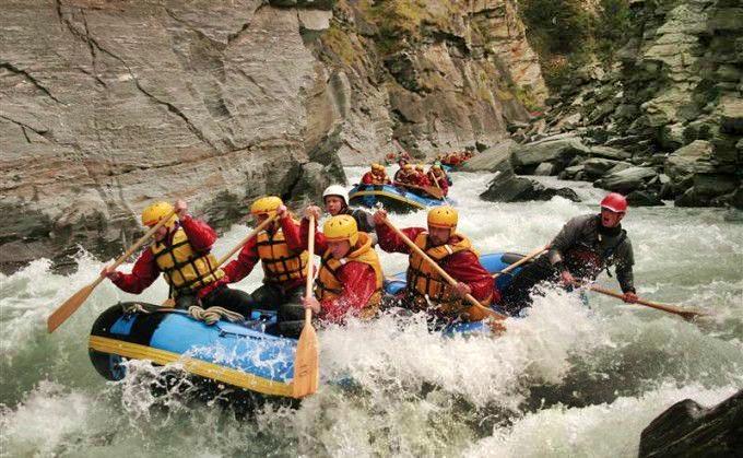 Kawarau River Rafting