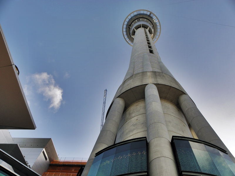 Sky Tower Entry