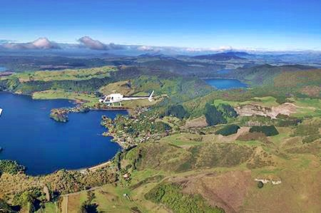 Volcanic Air Safaris Crater Lakes