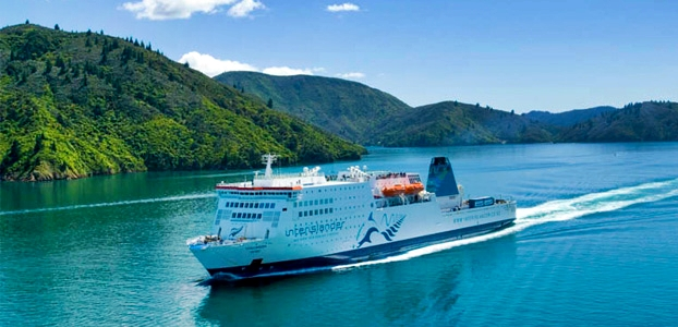 Interislander Ferry from Picton