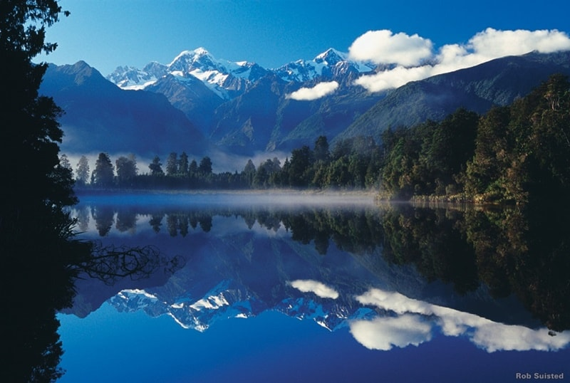 Mount Cook reflection, Photo Credit: Rob Suisted